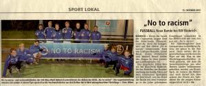 Zeitung No Racism