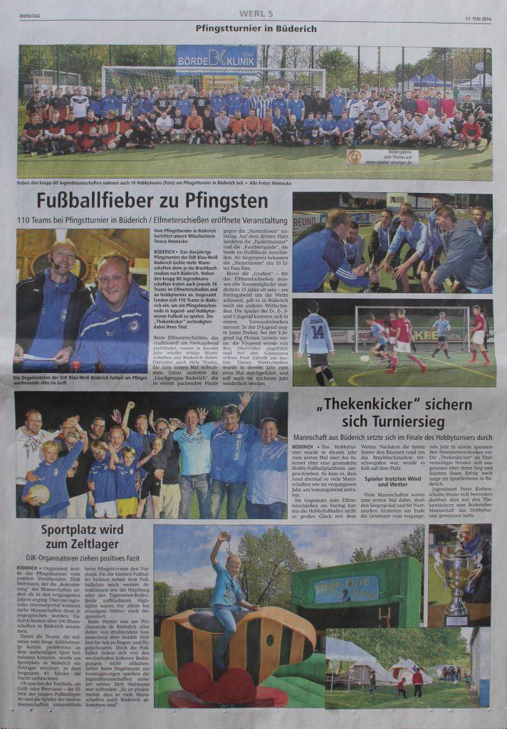Pfingstturnier 2016 Lokalteil