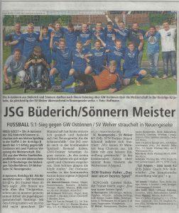 A-Jugend Meister 2016