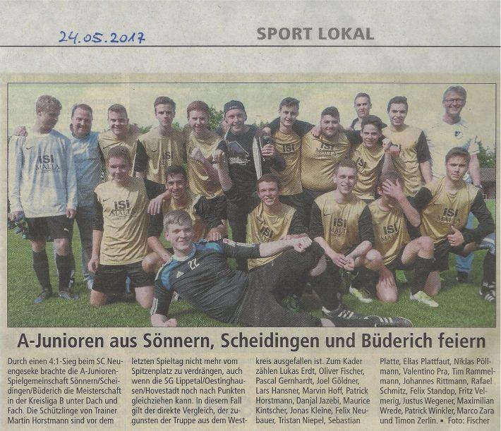 Meister A-Jugend 2017